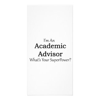 Academic Advisor Picture Card