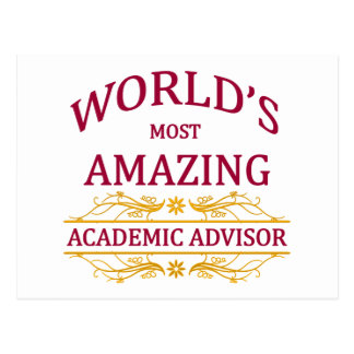 Academic Advisor Post Card
