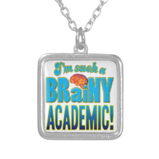 Academic Brainy Brain Personalized Necklace