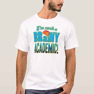 Academic Brainy Brain T-Shirt