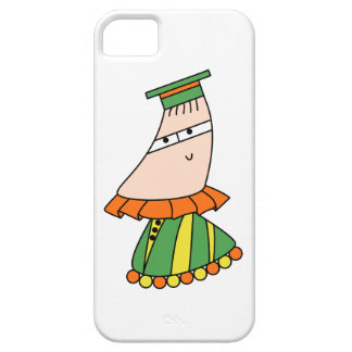 Academic dress kawaii cartoon character cases iPhone 5 case