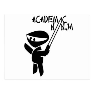 Academic Ninja Postcard