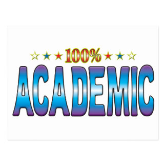 Academic Star Tag v2 Post Cards