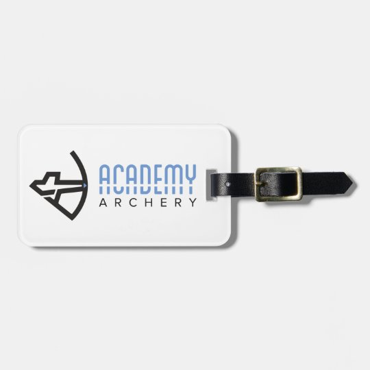 Academy Archery Luggage Tag