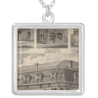 Academy of Music, Minnesota Silver Plated Necklace