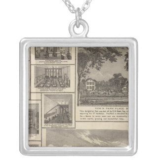 Academy of the Immaculate Conception Silver Plated Necklace