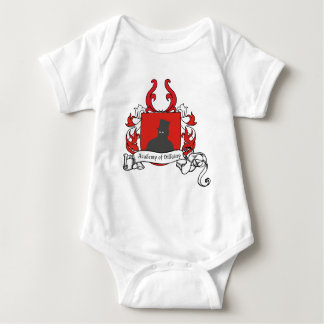 Academy of Villainy coat of arms Infant Creeper