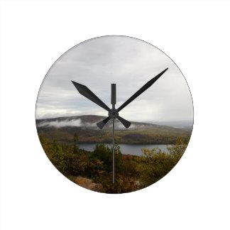 Acadia Mountain View Round Clock