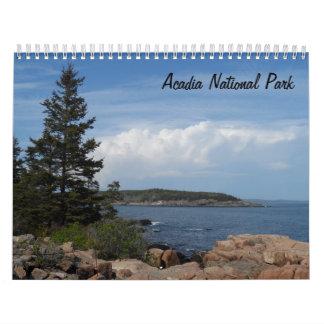 Acadia National Park 2018 Wall Calendars
