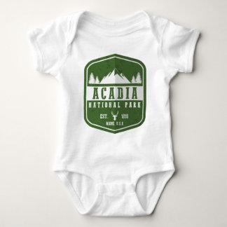 Acadia National Park Baby Bodysuit