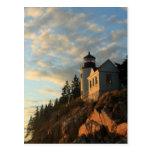Acadia National Park Bass Harbour Lighthouse Postcard