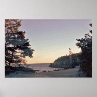 Acadia National Park Coastline Poster