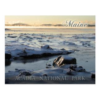 Acadia National Park, Maine Postcard