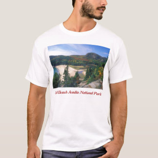 Acadia Sand Beach Overlook T-Shirt