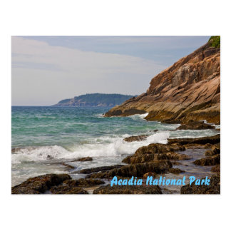 Acadia Shore Postcard