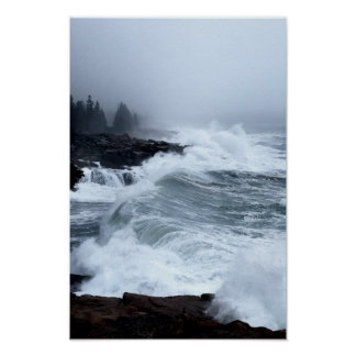 Acadia Surf Poster - 2