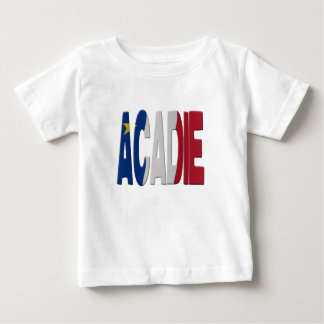 Acadian flag baby T-Shirt