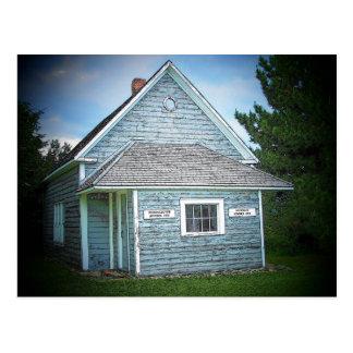 Acadian Schoolhouse Postcard