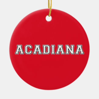 Acadiana Christmas Ornament