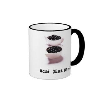 acai-berry-mibbowlofacaiberries, Acai  (Eat Me)!! Ringer Mug