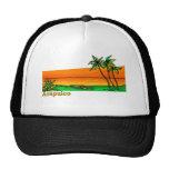 Acapulco, Mexico Mesh Hat