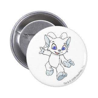 Acara White 6 Cm Round Badge