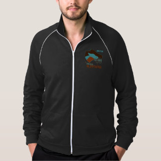 ACART - Safe Haven   Turquoise and Brown Logo Jackets