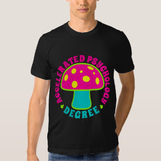 Accelerated Psychology Degree - Psychedelics, Neon T-Shirt