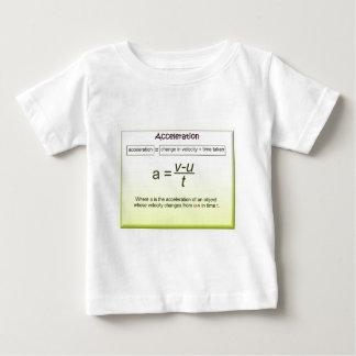 Acceleration, Math, Science, Physics T-shirt