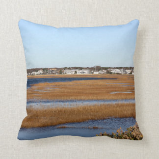 Accent Pillow with sea side views of Cape Cod