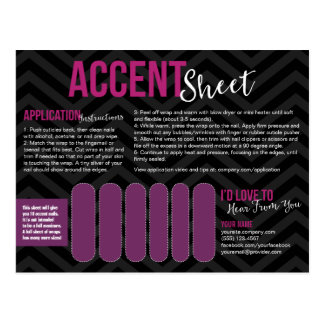 Accent Sheet Postcards