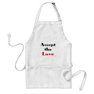 Accept the Love Apron