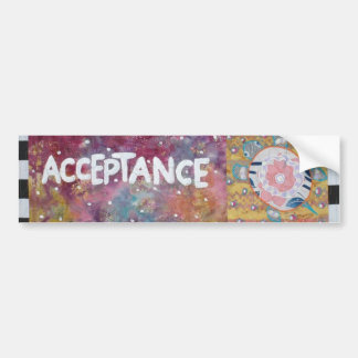 Acceptance Bumper Sticker
