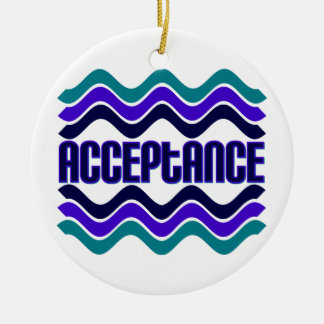 Acceptance Christmas Ornament