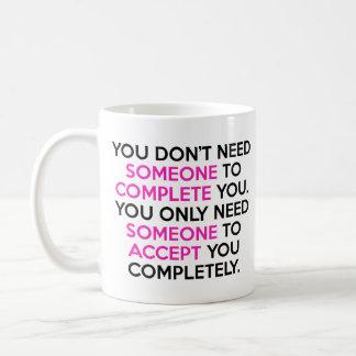 Acceptance cup