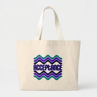 Acceptance Large Tote Bag