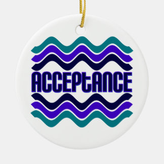 Acceptance Round Ceramic Decoration