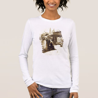Accepted, 1853 (pen & brown ink on paper) long sleeve T-Shirt
