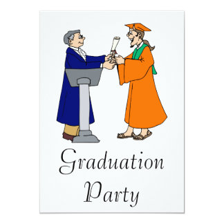 Accepting Diploma Announcements