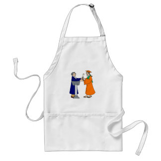 Accepting Diploma Adult Apron