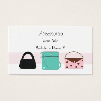 Accessories Designer Handbags Business Card