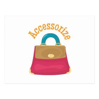 Accessorize Post Card