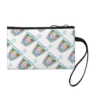 ACCESSORY BAGS - Psychedelic COCKTAIL GLASS
