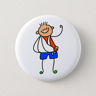 Accident Kid 6 Cm Round Badge
