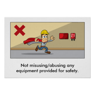 Accident Prevention 006 Poster