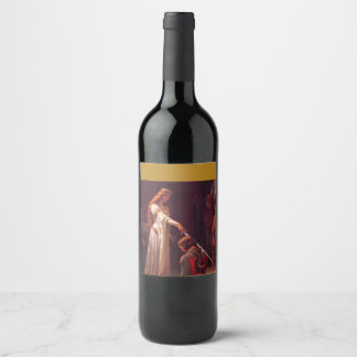 Accolade Customisable Wine Bottle Label