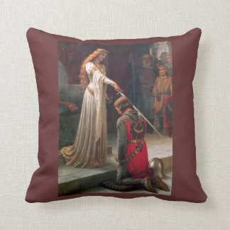 Accolade-The Knight Throw Pillow