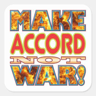 Accord Make X Square Sticker