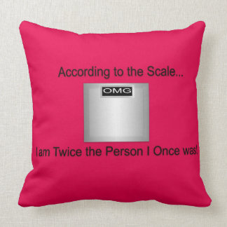 According to the Scale Pillow