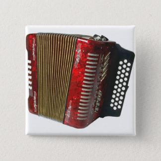 Accordion 15 Cm Square Badge